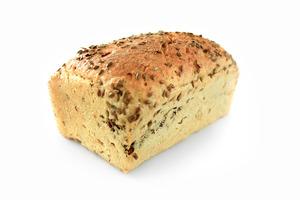 chleb razowy z lnem